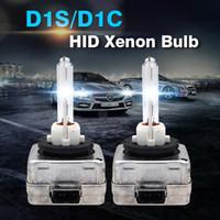 SkyJoyce 1対12V 35W D1S D1C HID Xenon電球セラミックベースD1S 3000K 4300K 6000K 8000K 10000K車のヘッドライトの交換電球