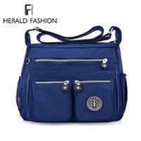 Herald Fashion Waterproof Nylon Women Messenger Bags Quality...