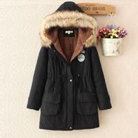2017 abrigo de lana mujeres chaqueta mezclas de algodón con capucha larga de cuello casual de las señoras de capas calientes de la mujer Abrigo invierno de las mujeres