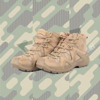 VOGEL LOWA Zephyr Sports de plein air tactique Alpinisme Boot Hommes résistant à l'usure des chaussures antidérapantes Chaussures Trekking pour la randonnée