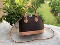Качество женщин Shell сумка сумки бренда дизайнер моды роскошь кошелек сцепления оригинальный дизайн Цветочный буквы плед