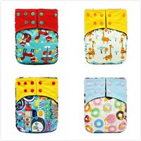 New Baby Cloth Diaper Reusable Diapers Cover One Size Adjust...
