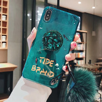 For 6P 7P 7ps x xs xsmax Phone Case Green Phone Case designe...