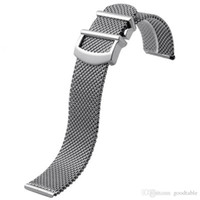 Watch Mesh Strap For IWC Portofino Stainless Steel Milanese ...