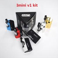 Authent Imini V1 густого масла Картриджи Испаритель Kit 500mAh Box Mod батареи 510 темы Liberty Tank Wax Атомайзеры Vape Pen Стартовые наборы