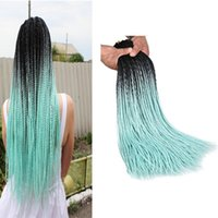 Synthetic Braiding Hair Senegalese Twist Ombre Color 24Inch ...