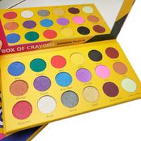 2020 trucco gamma scatola di pastelli estetiche della gamma di colori di 18 colori gamma di colori dell'ombretto di luccichio opaco bellezza dell'occhio di trasporto del DHL