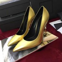 2019 Classic High Heel Pumps in Patent Leather with Structur...