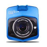 """2,4"""" de vídeo Mini Car DVR Camera Dashcam completa HD1080P GT300 visão Recorder G-Sensor Noite Camera"""