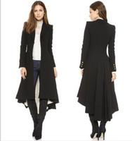 Осень 2019 женщин и зима новой шерстяных пальто женщин отворота костюм запонка складка после SWALLOWTAIL шерстяного пальто женщин