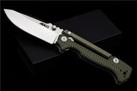 Soğuk çelik AD-15 taktik av kamp bıçak cebi aracı EDC utdoor Yüksek Kalite Katlama Bıçak akrep kilit D2 bıçak G10 kolu