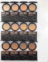 2019 Neue Heiße Make-up Hohe Qualität NC 12 Color Fix POWDERS Puffs Foundation 15g! DHL-freies Verschiffen.