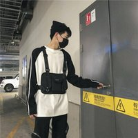 New Hot 2019 ins Style Streetwear Chest Rig Marsupio Funzionale Crossbody Tracolla Bolso Kanye West Chest Bag Fanny Pack