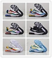 2019 En Yeni Tasarımcı 270S Womens 27C Bauhaus Elektro Yeşil ABD 5,5-13 DOĞRU Teal Spor Sneaker büyük beden BE Ayakkabı Koşu React