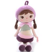 Плюшевые игрушки мягкие девушки детские куклы Metoo кукла подарки на День Рождения для девочек дети Baby Shower подарок фиолетовый 18 дюймов