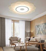 جديد الثريا نمط غرفة المعيشة أدى أضواء الحديثة الاكريليك الحد الأدنى أدى سقف أضواء مصابيح قلادة نوم