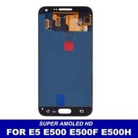 Fábrica de LCD para Samsung Galaxy precio E5 E500 E500F E500H E500M Pantalla LCD táctil digitalizador Asamblea reemplazo de la pantalla 100% Probado
