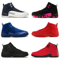 Wholesale 12 12s mens Basketball Shoes PRM DEEP ROYAL white ...