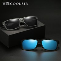 f1a2c69bd24fc Nova Chegada. óculos polarizados marca UV400 Masculino condução óculos  óculos de sol homens. US ...