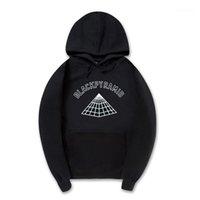 Al por mayor de hombres y mujeres nuevos sudaderas pirámide negro sudaderas con capucha sportswear1 Hip hop Streetwear ropa de la marca con capucha