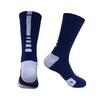 الجملة المهنية النخبة كرة السلة جوارب طويلة الركبة الرياضية الجوارب الرياضية الرجال الأزياء ضغط الحرارية الساق دفئا الجوارب 8 ألوان