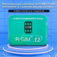 Oryginalna Karta Odblokowa RSIM12 + R-SIM 12+ IOS 12.2 / 3 Odblokowanie dla iPhone XS X 7 8 PLUS IOS12.3 Automatyczne wyskakujące menu