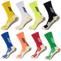 كرة القدم الجوارب زلة المضادة كرة القدم جوارب للرجال كما مماثلة وTrusox الجوارب لكرة السلة الجري ركوب الدراجات رياضة الركض