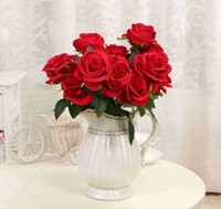 New Artificial Flowers Rose Peony Flower Home Decoration Wed...