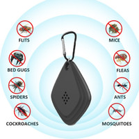 Draagbare USB Electronic Mosquito Repeller Sleutelhanger Ultrasone Mosquito Killer Fly Insect Bug Spider Pest Repellent voor Home Outdoor Camping