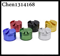 New style 4 layers aluminium alloy herb grinder 75mm diamete...
