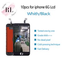 10PCS DHL LCD display for iPhone 6 6G 4. 7 inch touch screen ...