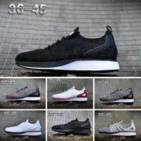 quality design df027 0d351 NIKE Air Flyknit Racer Be True 2 2018 Nuevo Off Zoom Fly Presto Huarache Hombres  Mujeres