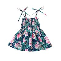 Toddler Girl Dresses Summer Baby Girl Floral Summer Party Ca...