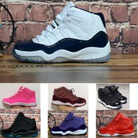 2019 Date XI mi-hauteur 11 11S espace jam Enfants chaussures de basket-ball garçon fille jeune enfant sport Sneaker taille 28-35