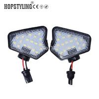 2pcs nenhum erro levou luz LED espelho poça W204 W212 W176 W246 W219 W221 A C E S CLS GLK Car sob lâmpadas espelho
