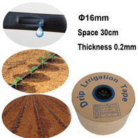 20 30 50 Meters Drip irrigation Tape 16mm Hose Watering Syst...