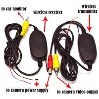 2017 2.4G Wireless RCA Video Sender-Empfänger-Kit für Auto-DVD-Monitor GPS-Rückfahrkamera Rückseiten-Unterstützungsrückfahrkamera