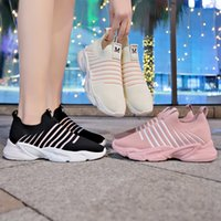 Women shoes sneakers 2019 new spring lace- up white female sh...