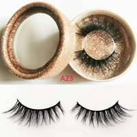 3D faux mink lashes makeup eyelashes natural long false eyel...