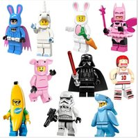 unicorn assemble building block Rabbit Bat Fairy Shark Man U...