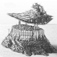 В наличии DHL Star Plan Империя над Jedha City Block Block MOC 18916 21007 5162 + PCS 05027 05062 Кирпич игрушка для рождественского подарка