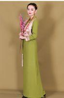 Costume tradizionale Tibet Confortevole tessuto Abbigliamento etnico Abbigliamento a maniche lunghe Stile nazionale Stile Tang Suit Set Donne Abbigliamento Tibetano