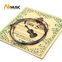 10SET King Lion Violin String Copper-Nickel Alloy Wound Alloy Steel Core .010-.033 Violin Parts