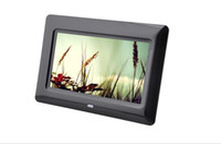 7 pouces cadre photo numérique de lecture automatique OEM et ODM Video Player produits multifonctions