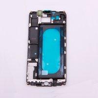 9 Çerçeve Çerçeve Değiştirme Parçaları Ön Muhafaza Destekleme Samsung Galaxy A9 6'0 Faceplate LCD için Ön Çerçeve Orta plaka