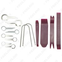 Großhandel 14pcs / Set Auto Audio Stereo DIY Refit Werkzeug Radiolautsprecher-Panel Trim Key Ausbau Einbau Pry Reparatur Key Tool Kits # 5755