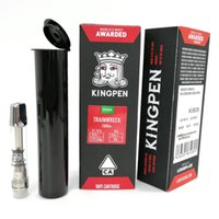 Red Packaging KINGPEN Vape Cartridges 1. 0ml Vaporizer for va...