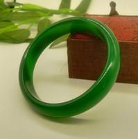 천연 잔디 녹색 녹색 마노 팔찌 아이스 종자 옥수 재스퍼 녹색 옥수