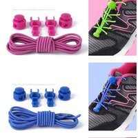 100 CM spor rahat ayakkabı tembel danteller moda 24 renkler elastik yuvarlak yetişkin çocuk güvenliği streç-ücretsiz unisex ayakkab ...