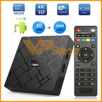 HK1 Mini Android 8.1 Caixa de TV 2G Ram 16 GB Rom RK3229 Quad Core Wi-fi 2.4G 4 K 3D Google Netflix Smart TV Vara Set Top Box